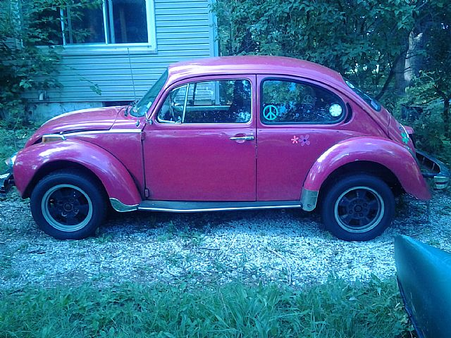 1974 volkswagen super beetle for sale pleasant prairie. Black Bedroom Furniture Sets. Home Design Ideas