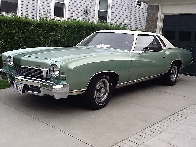 1973 chevrolet monte carlo for sale new bedford massachusetts. Black Bedroom Furniture Sets. Home Design Ideas
