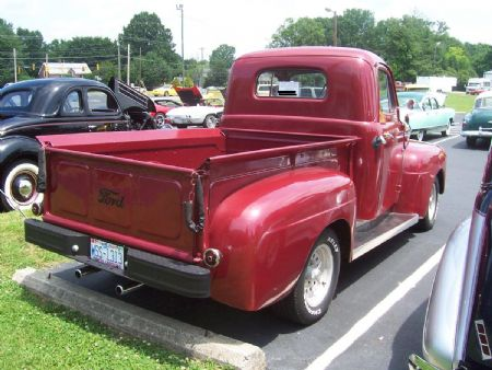 1950 ford f1 pickup truck for sale winston salem north carolina. Black Bedroom Furniture Sets. Home Design Ideas