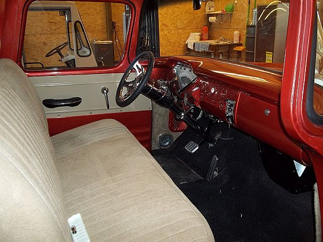 Truckinterior on 1960 chevy suburban