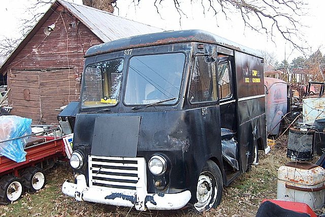 1956 Chevrolet Step Van For Sale Sparta Wisconsin