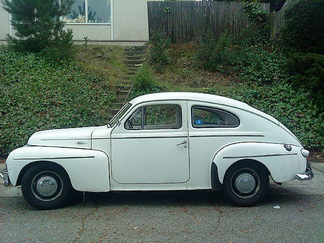 1958 Volvo Pv544 For Sale San Mateo California