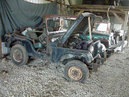Jeep Cj Parts >> 1966 Jeep Cj5 For Parts For Sale S Newark Ohio