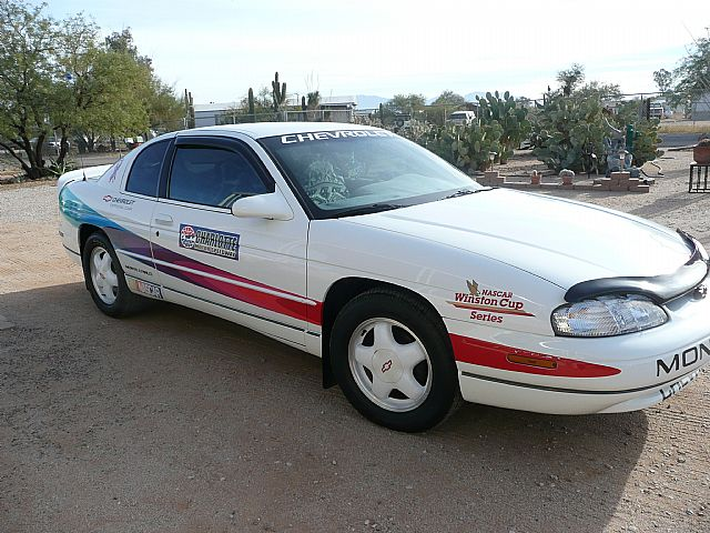 Collecters Original Nascar Pace Car 1996 Chevrolet Monte Carlo Z34