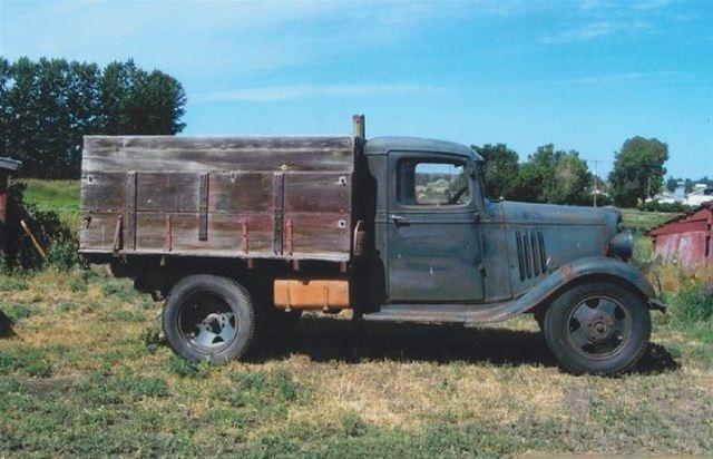 1935 chevrolet 1 ton pickup for sale billings montana. Black Bedroom Furniture Sets. Home Design Ideas