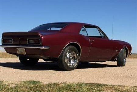 1967 Chevrolet Camaro For Sale Kearney Nebraska