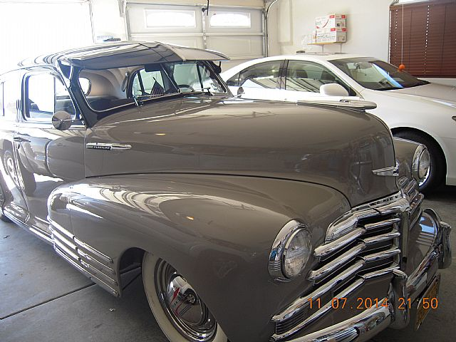 1948 Chevrolet Fleetline For Sale California