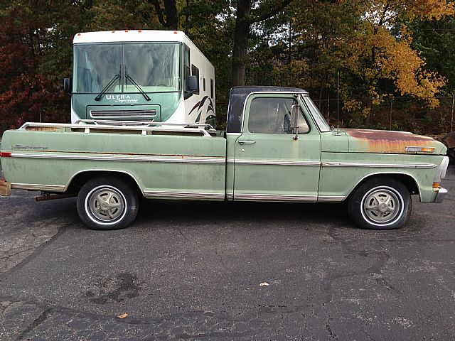 Nick Mayer Lincoln >> 1971 Ford F100 For Sale Westlake, Ohio