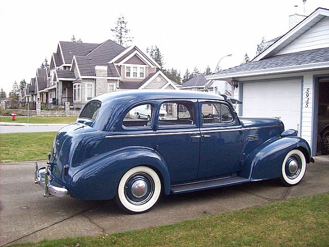 1939 pontiac chieftain for sale surrey british columbia