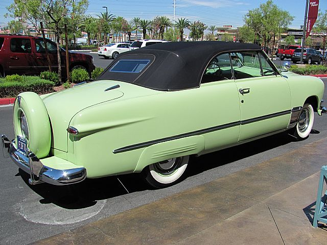 1950 Ford Custom Deluxe Convertible For Sale Las Vegas Nevada