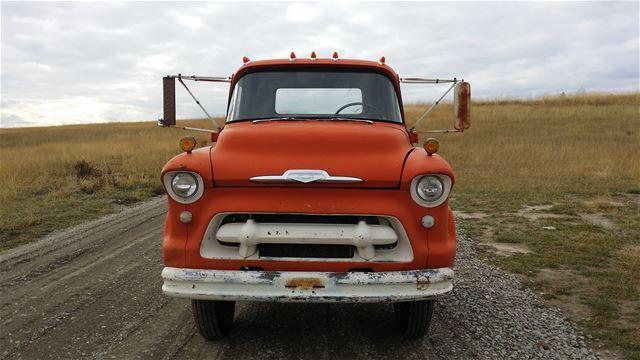 1956 chevrolet coe truck for sale eureka montana. Black Bedroom Furniture Sets. Home Design Ideas
