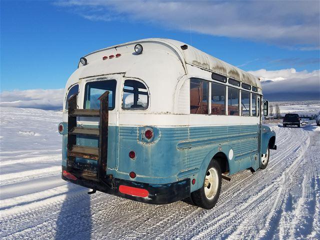 1962 Ford B500 Short Bus For Sale Eureka  Montana