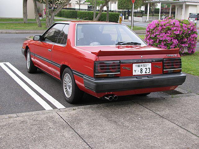 1984 Nissan Skyline 'Paul Newman Version' For Sale ...
