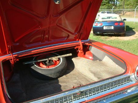 '65 Ford Falcon XP Coupe. Bootlid - after