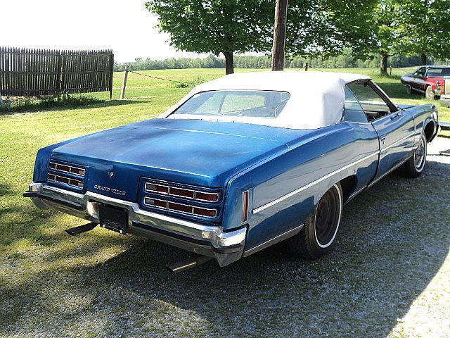 1972 Pontiac Grandville Convertible For Sale Creston Ohio