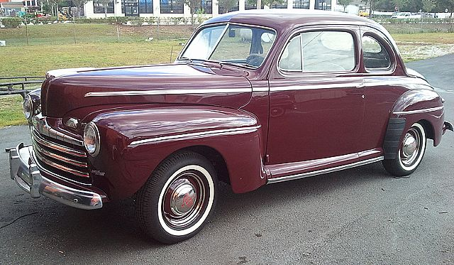 1947 ford super deluxe 2 door coupe for sale florida for 1947 ford 2 door