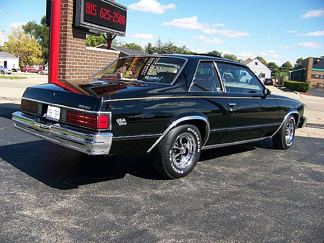 1981 Chevrolet Malibu Classic Sport Coupe For Sale Sterling, Illinois