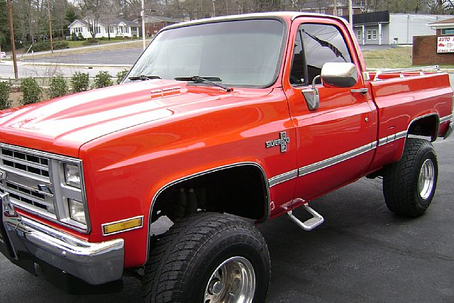 1987 Chevrolet Silverado For Sale Rockmart Georgia