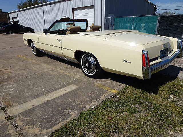 1974 Cadillac Eldorado In Houston Tx: Cadillac Eldorado For Sale In Houston Texas