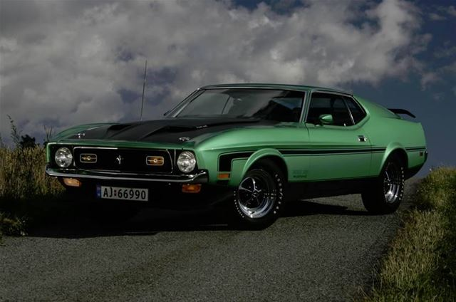 1971 ford mustang boss 351 for sale norway. Black Bedroom Furniture Sets. Home Design Ideas