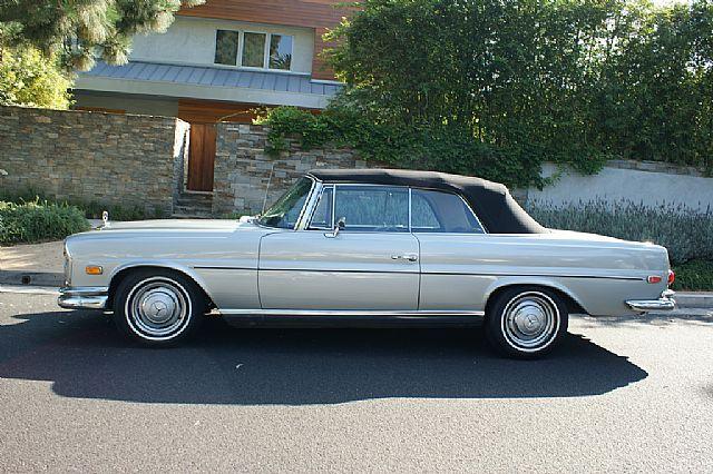 1968 mercedes 250se for sale santa monica california. Black Bedroom Furniture Sets. Home Design Ideas