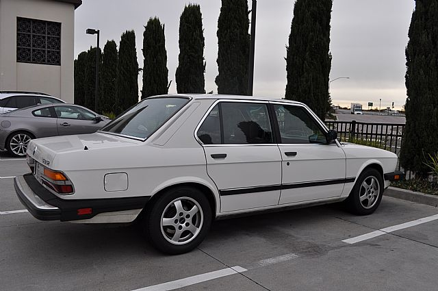 1985 Bmw 535i For Sale San Mateo California