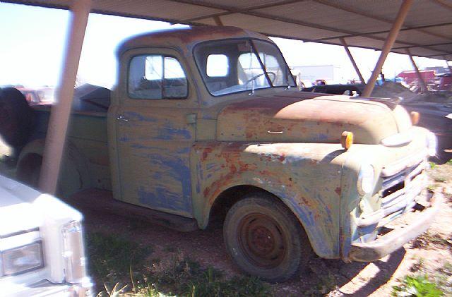 1950 Dodge Pickup For Sale Abilene Texas