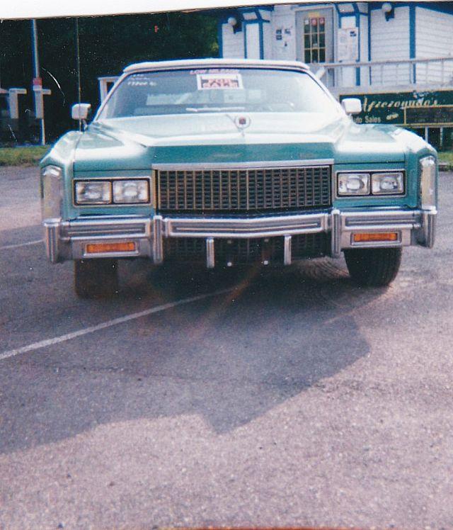1976 Cadillac Eldorado For Sale East Stroudsburg, Pennsylvania