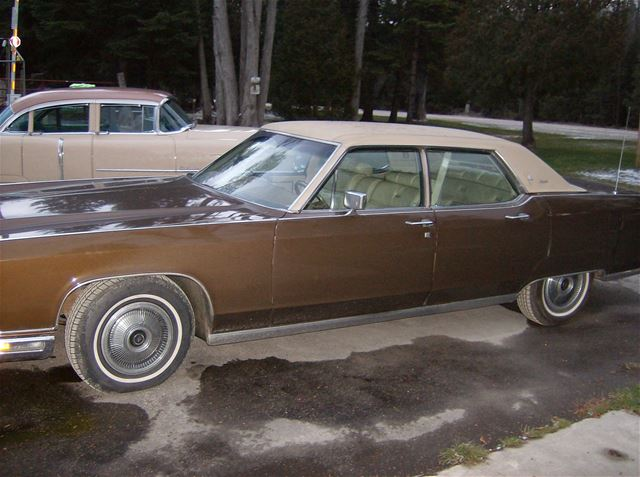 1973 Lincoln Continental Town Car For Sale Durham Ontario