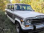 1987 Jeep Grand Wagoneer Picture 3