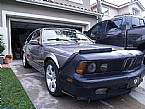 1989 BMW 635Csi Picture 3
