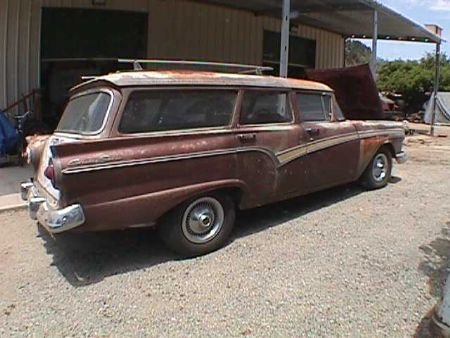 1957 Ford Station Wagon For Sale San Diego area, California