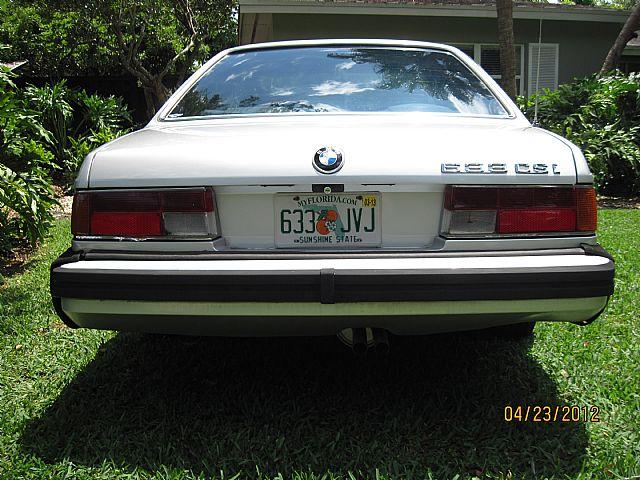 1984 Bmw 633csi For Sale Miami Florida