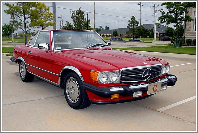 1989 Mercedes 560SL For Sale Oklahoma City, Oklahoma