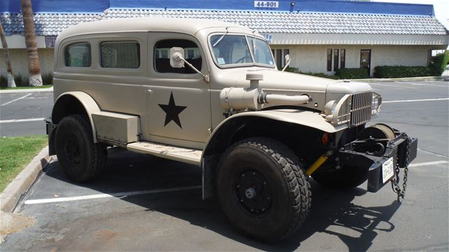 1942 Dodge Carryall Wc 53 For Sale Indio California