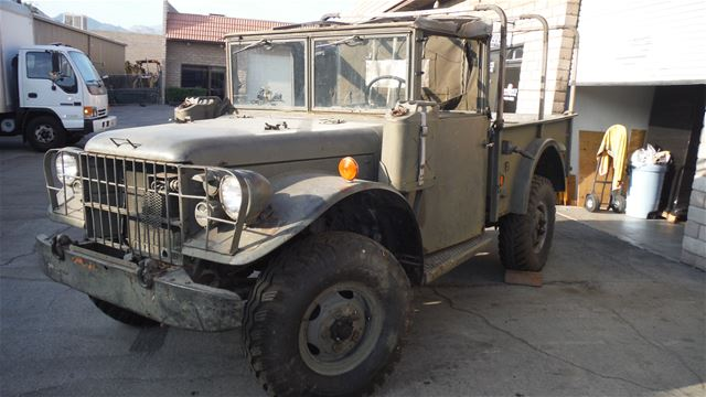 1954 Dodge M37 Power Wagon For Sale Indio, California