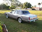 1989 Lincoln Town Car Picture 3