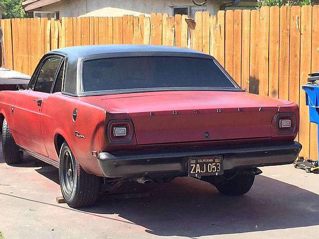 1969 Ford Falcon Futura For Sale San Diego, California