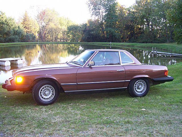 1978 Mercedes 450sl For Sale East Liverpool Pennsylvania