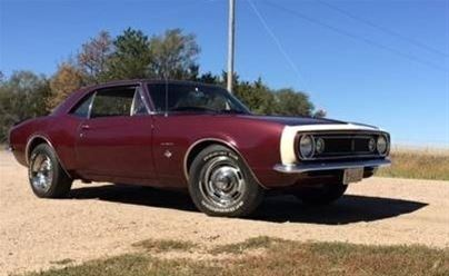 1967 Chevrolet Camaro For Sale Kearney Nebraska