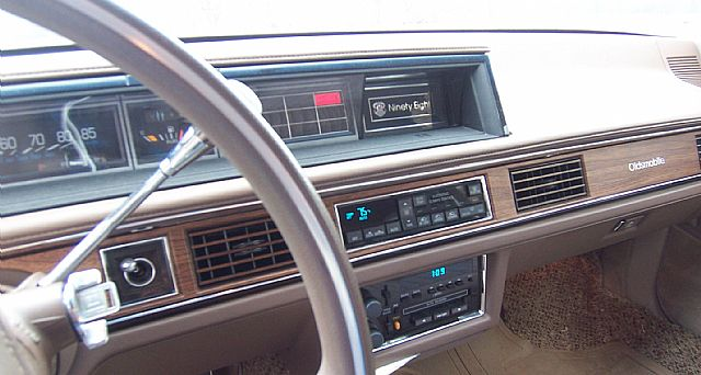 on 1988 Oldsmobile 98 Regency