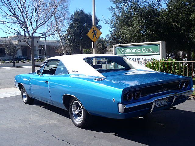 Thousand Oaks Dodge >> 1968 Dodge Charger R/T For Sale Thousand Oaks, California