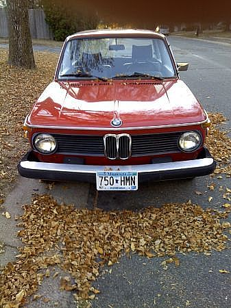 1974 Bmw 2002 For Sale St Paul Minnesota