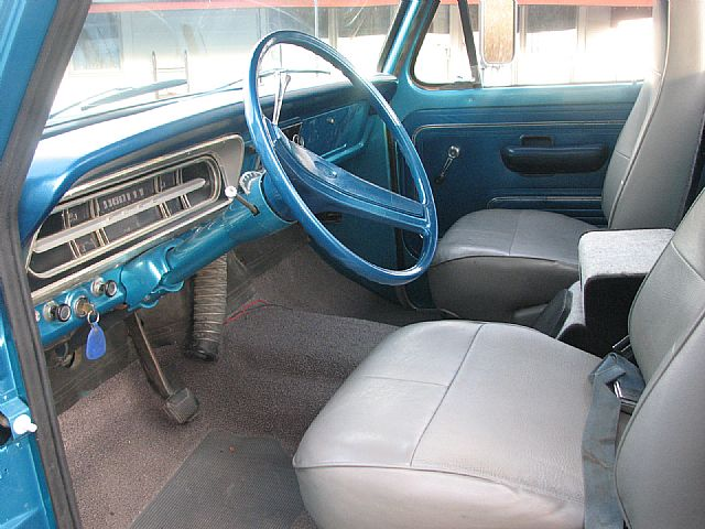 1972 ford trucks | 1972 Ford Pickup Truck Air Conditioning System ...