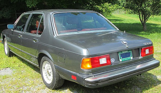1984 bmw 733i for sale bennington  vermont