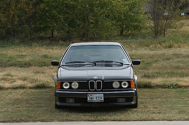 1988 Bmw 635csi L6 For Sale Dallas Texas