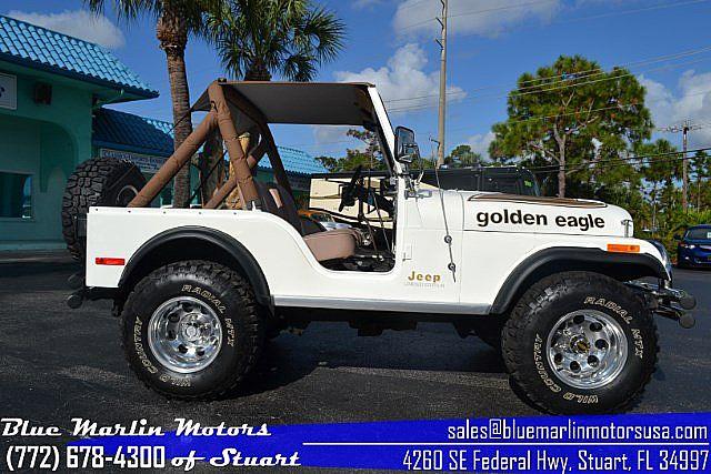 1980 jeep cj5 golden eagle for sale stuart florida. Black Bedroom Furniture Sets. Home Design Ideas