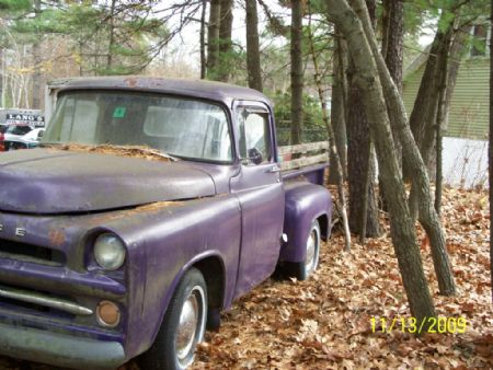 1957 Dodge D100 Pickup For Sale Newmarket, New Hampshire