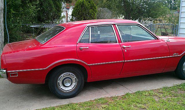 1972 Red Ford Maverick