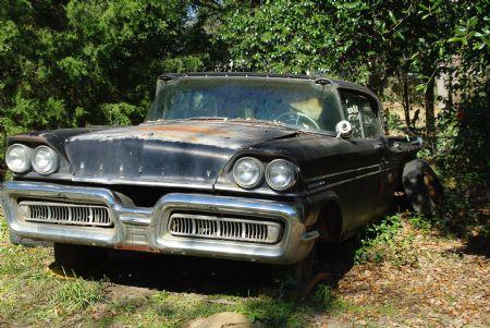1958 Mercury Turnpike Cruiser For Sale Headland Alabama